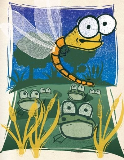 Dragonfly-and-Frogs