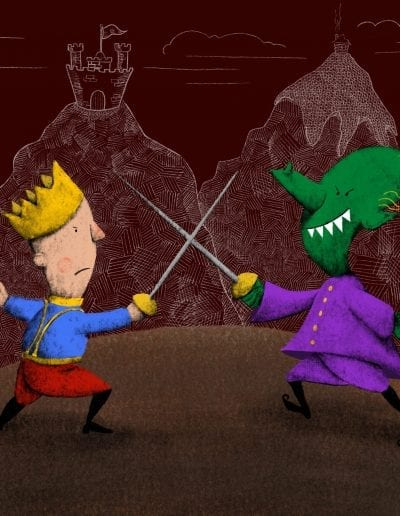 Sword Fight with a Troll